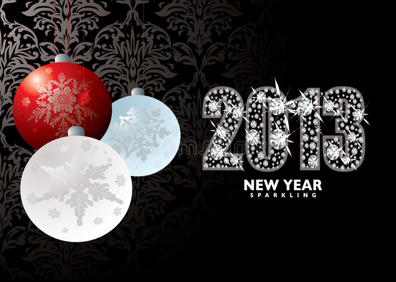 Download Christmas New Year 2013 Royalty Free Stock Photography - Image: 28012497