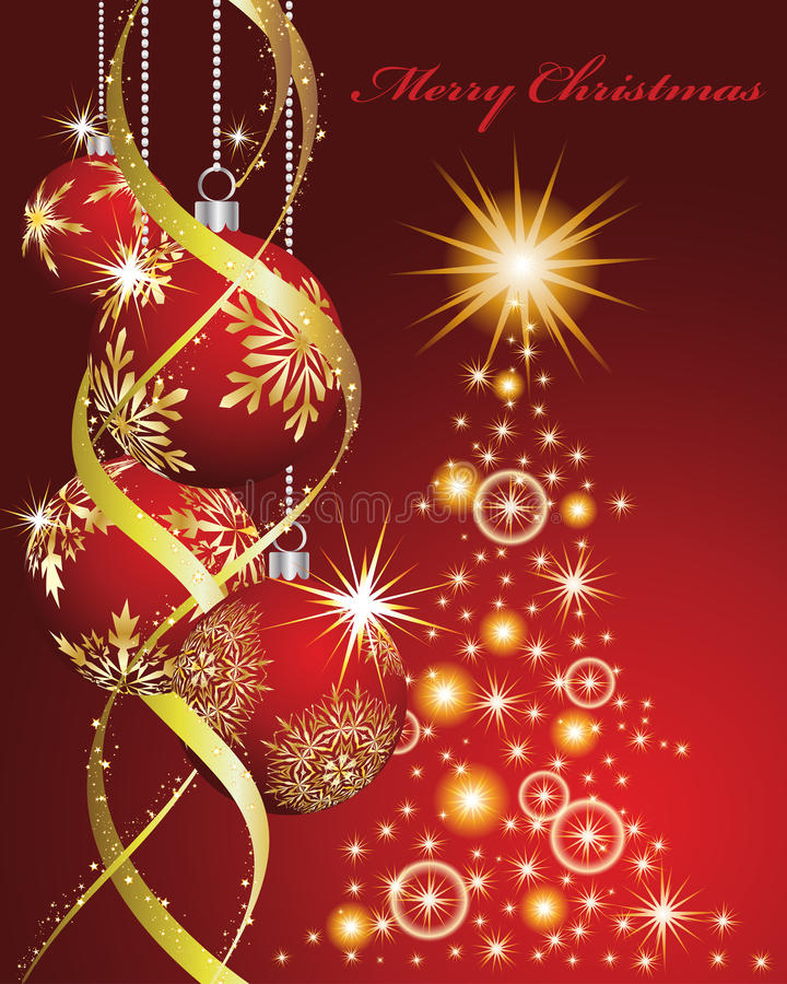 Download Christmas And New Year Background Stock Vector - Image: 26640012