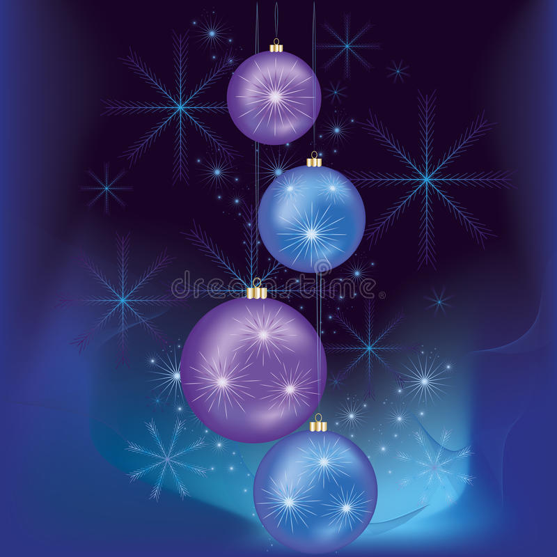 Download Christmas And  New Year Card Stock Vector - Image: 21971106