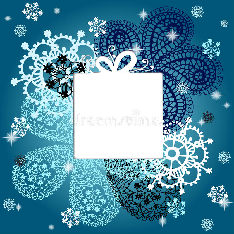 Christmas and new year card with snowflakes stock vector download christmas and new year card with snowflakes stock vector illustration of graphic banner stopboris Choice Image