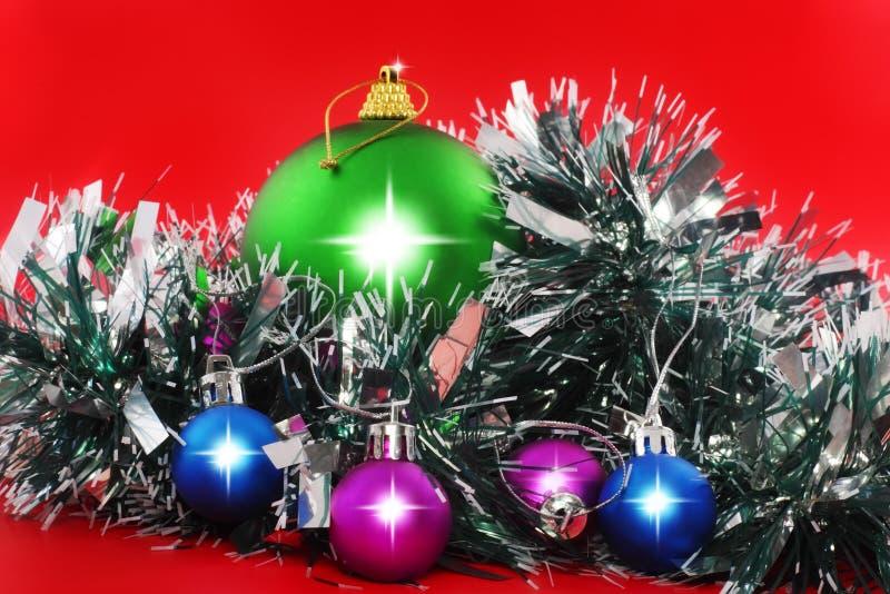 Download Christmas,  New Year Decoration- Balls, Tinsel. Stock Photo - Image: 23023104