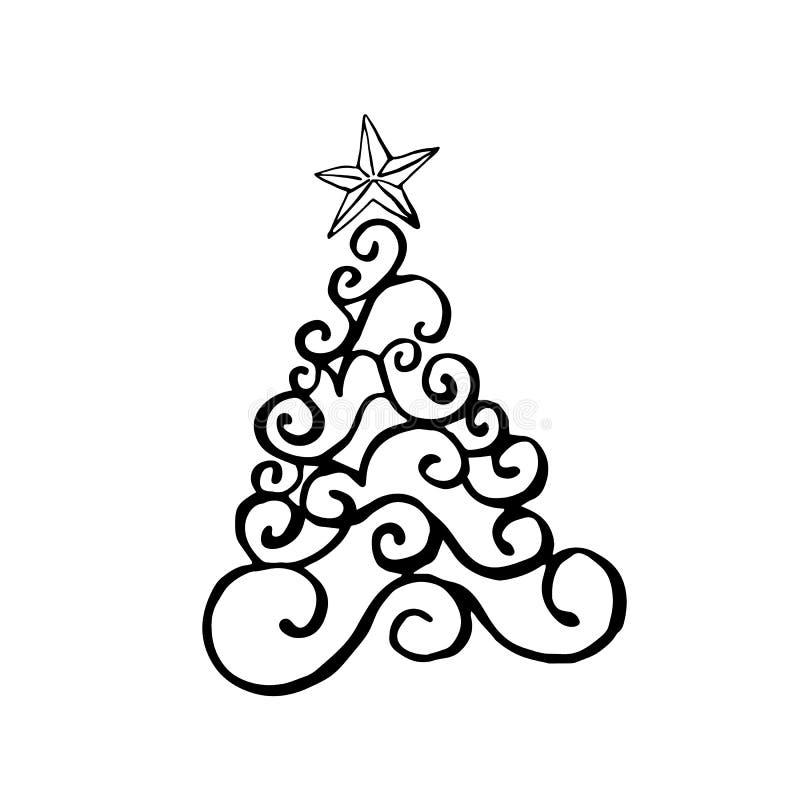 Christmas, New Year design elements. stock illustration