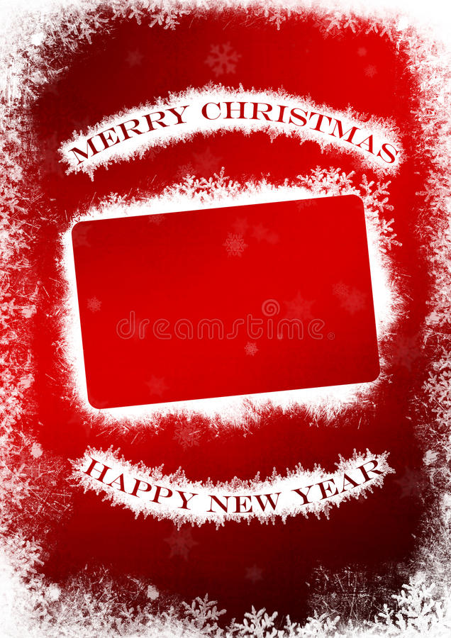 Download Christmas And New Year Greeting Card Stock Illustration - Illustration: 33991653