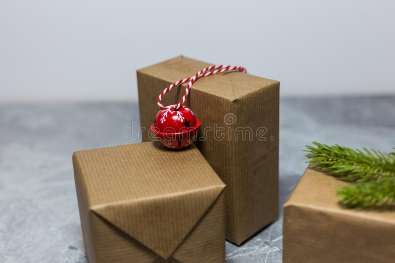 Christmas and New Year holiday background royalty free stock images