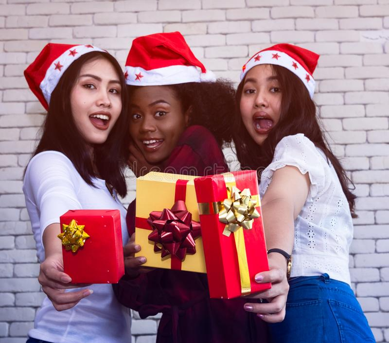 Christmas and new year party. royalty free stock image