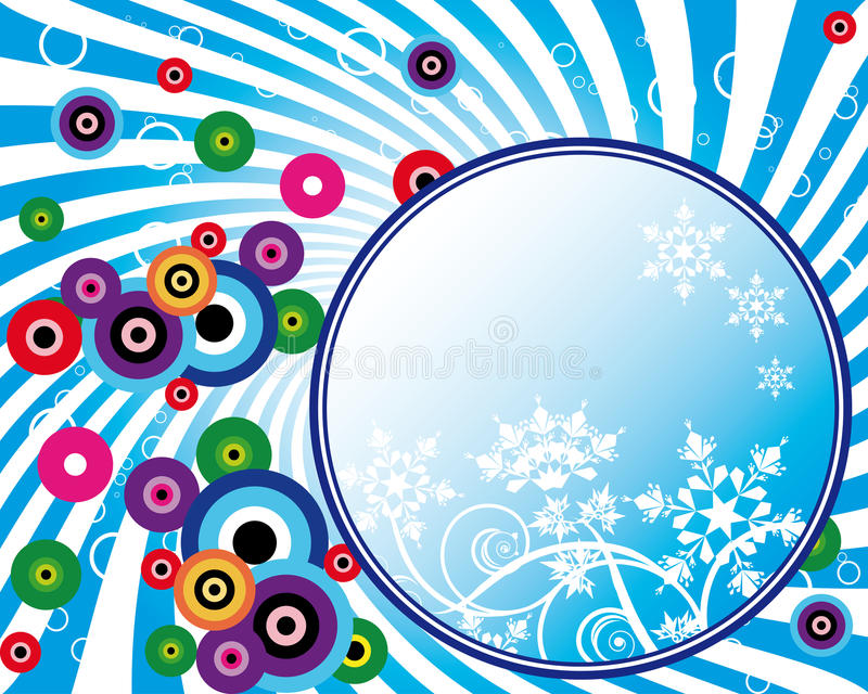 Christmas and New Year's background royalty free stock photography