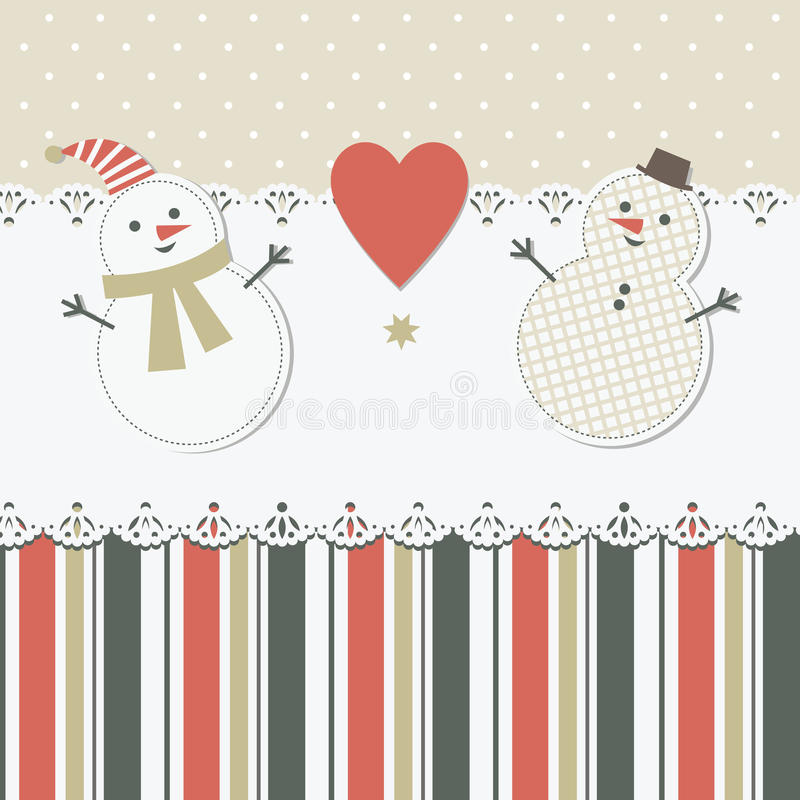 Download Christmas And New Year's Greeting Card Royalty Free Stock Images - Image: 22110729