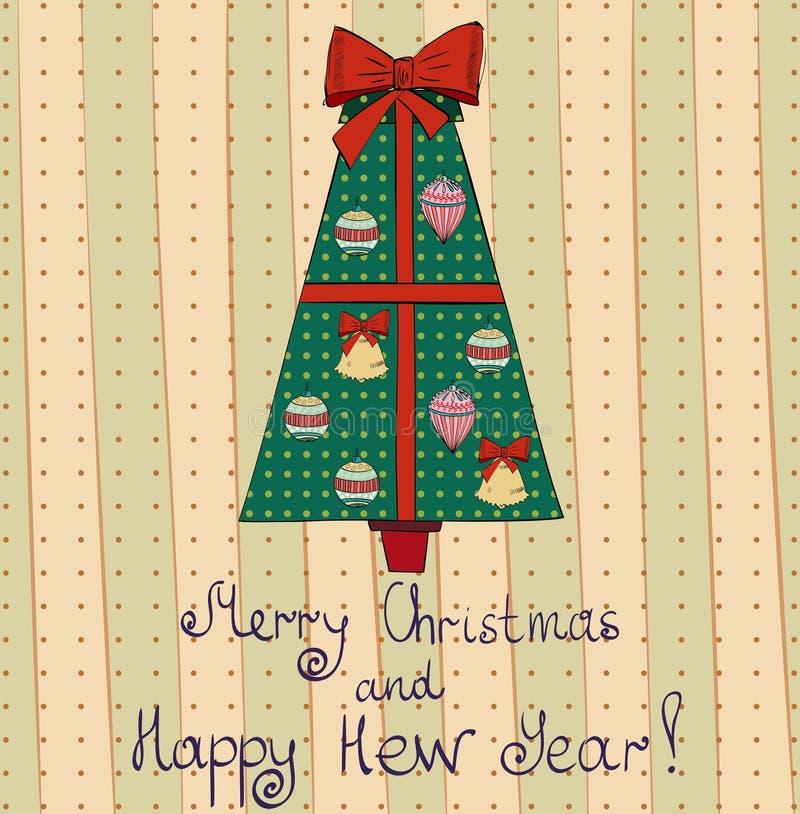 Download Christmas stock vector. Illustration of green, shape - 35743346