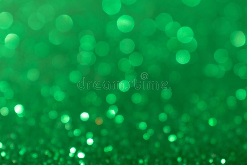 Christmas New Year Valentine Day Green Glitter background. Holiday abstract texture fabric. Element, flash. royalty free stock photos