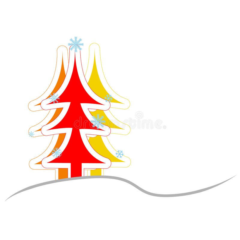 Download Christmas And New Year. Vector Greeting Card Stock Vector - Image: 33112962