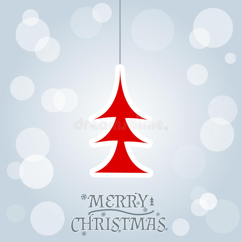 Download Christmas And New Year. Vector Greeting Card Stock Vector - Image: 33112995