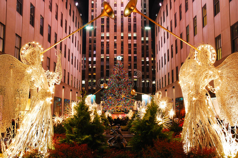 Christmas In New York royalty free stock image