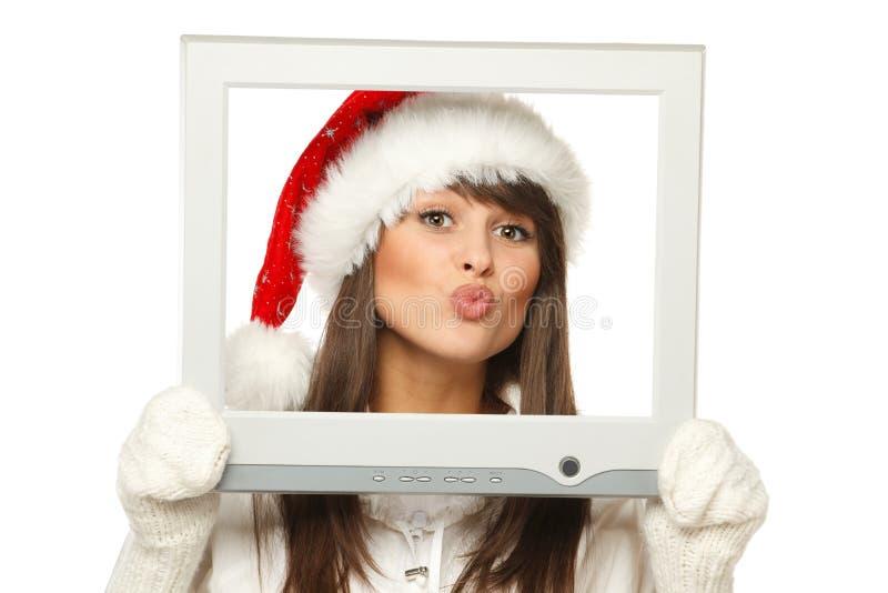 Download Christmas news stock image. Image of news, kiss, monitor - 21987533