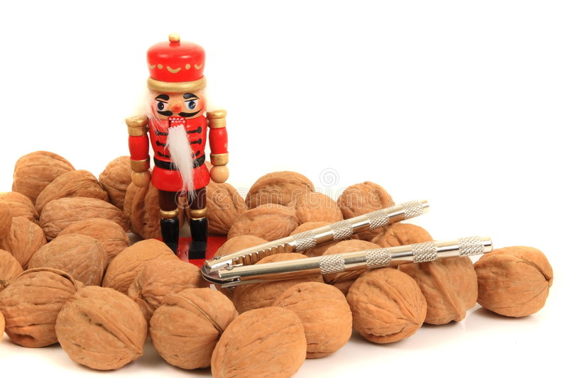 Download Christmas Nut Cracker stock photo. Image of walnuts, nuts - 7522888