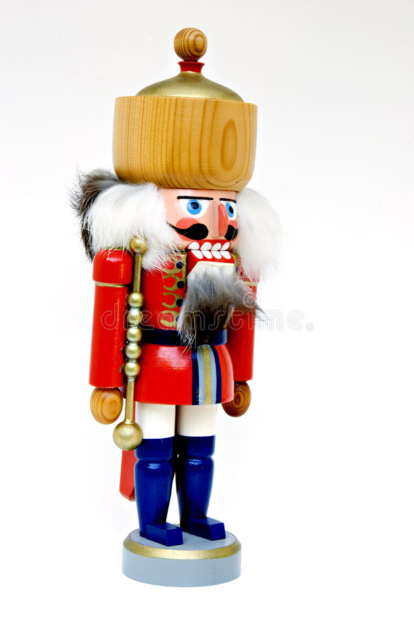 Christmas nut cracker royalty free stock image
