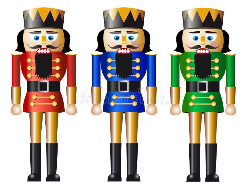 Christmas nutcracker royalty free illustration