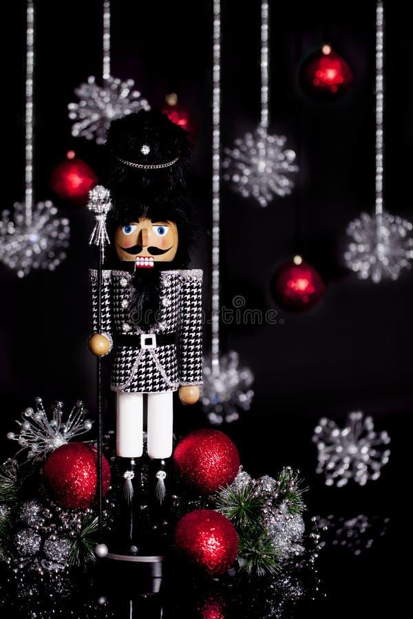 Christmas Nutcracker Houndstooth Jacket stock images
