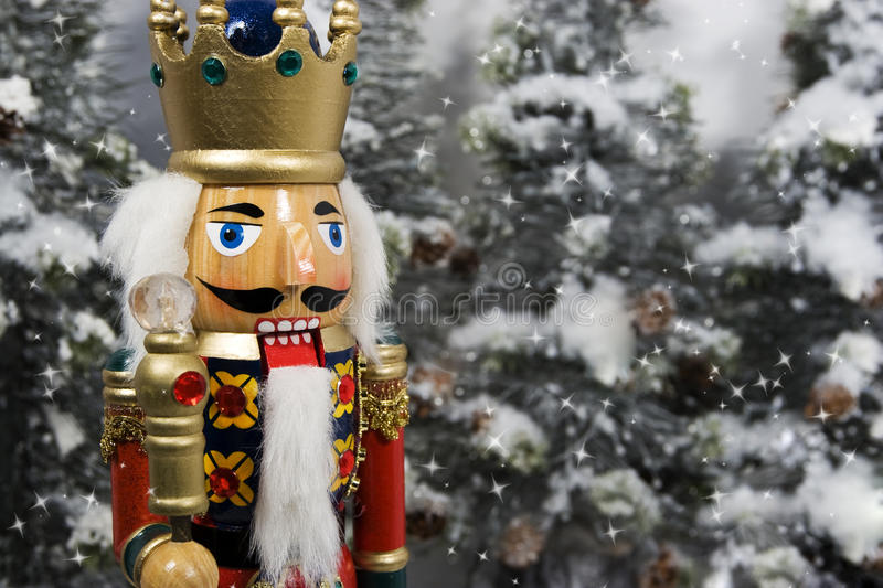 Christmas Nutcracker King stock photography