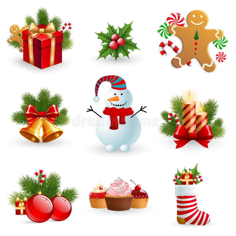 Christmas Object. Royalty Free Stock Photo