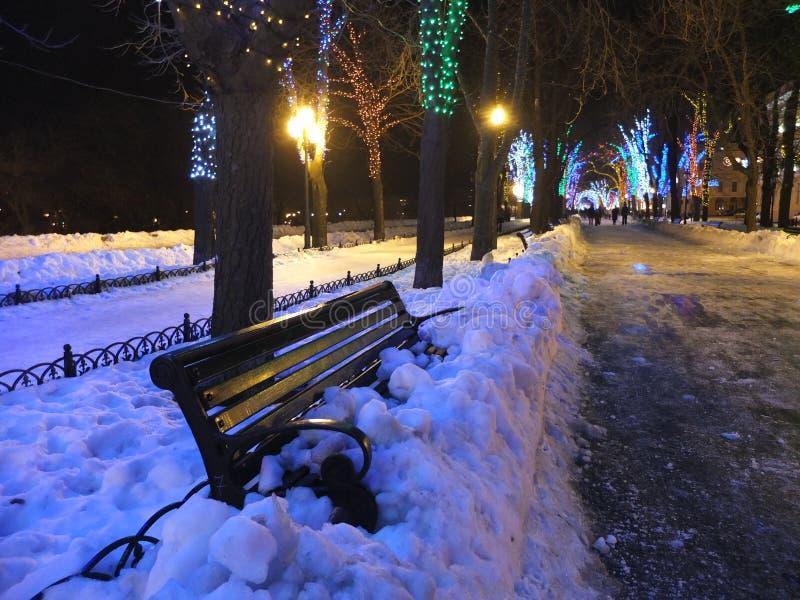 Christmas Odessa royalty free stock image