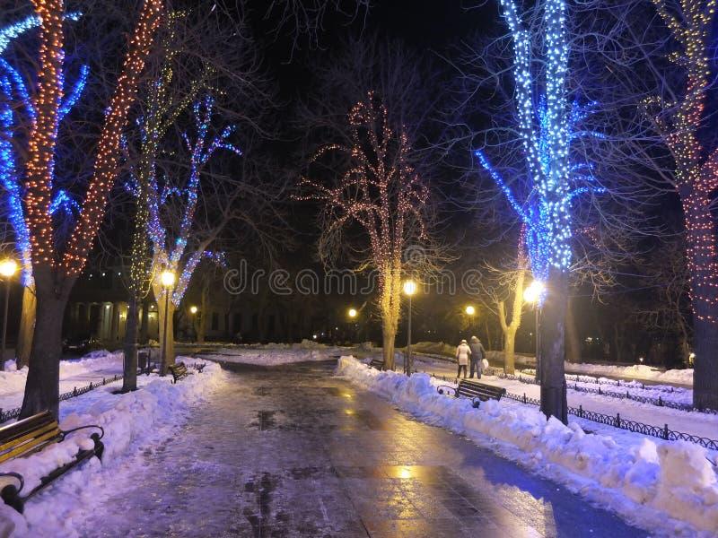Christmas Odessa royalty free stock photos