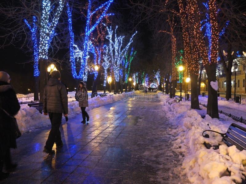 Christmas Odessa stock photos