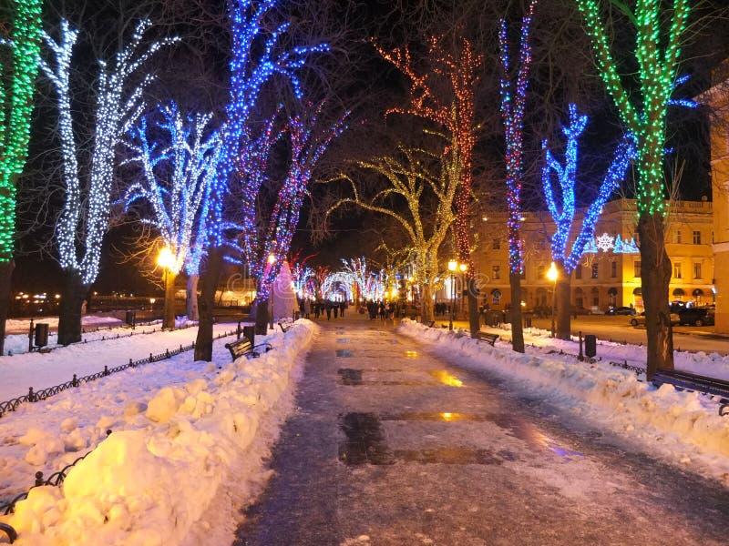 Christmas Odessa stock photography