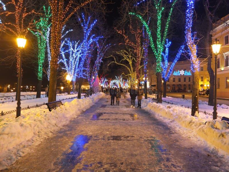 Christmas Odessa royalty free stock photography