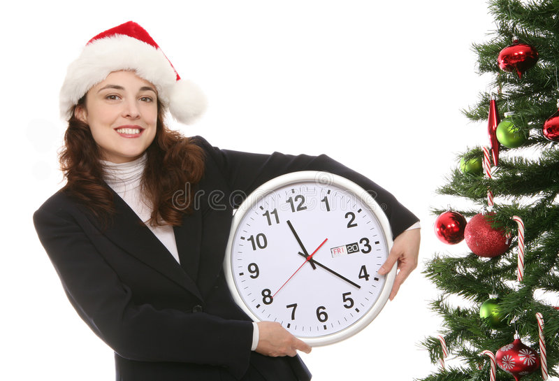 Download Christmas in the Office stock image. Image of seasonal - 3829175