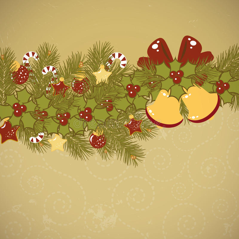Christmas old background card royalty free stock photos