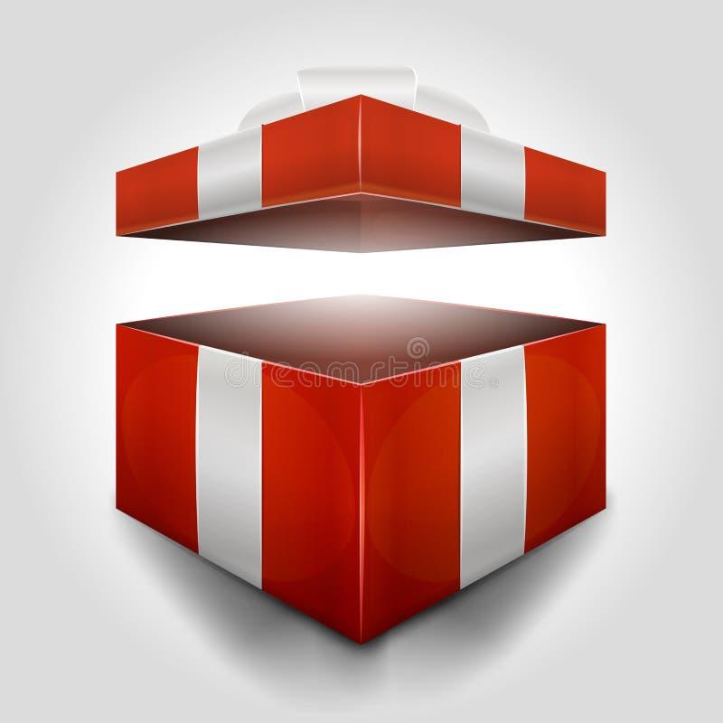 Free Christmas Open Gift Box Stock Photography - 98379322