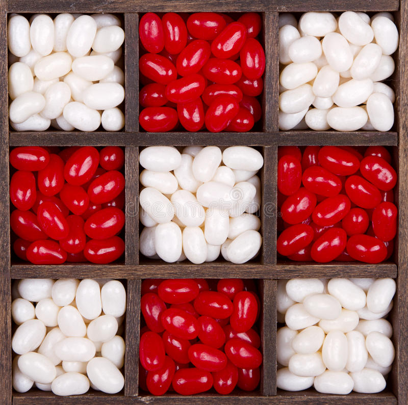 Free Christmas Or Valentine Candies In A Box Stock Photo - 28077560