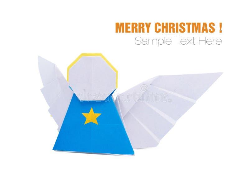 Christmas Origami Angel Stock Photo Image Of Christmas 103953404
