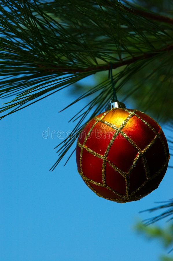Download Christmas Ornament stock image. Image of yellow, green - 226007