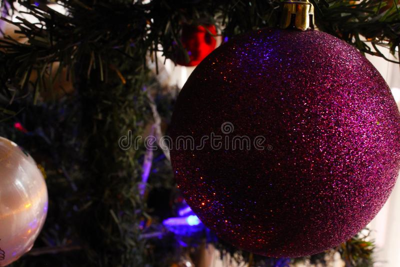 Christmas ornament background wallpaper design. For artwork use with text or image royalty free stock images