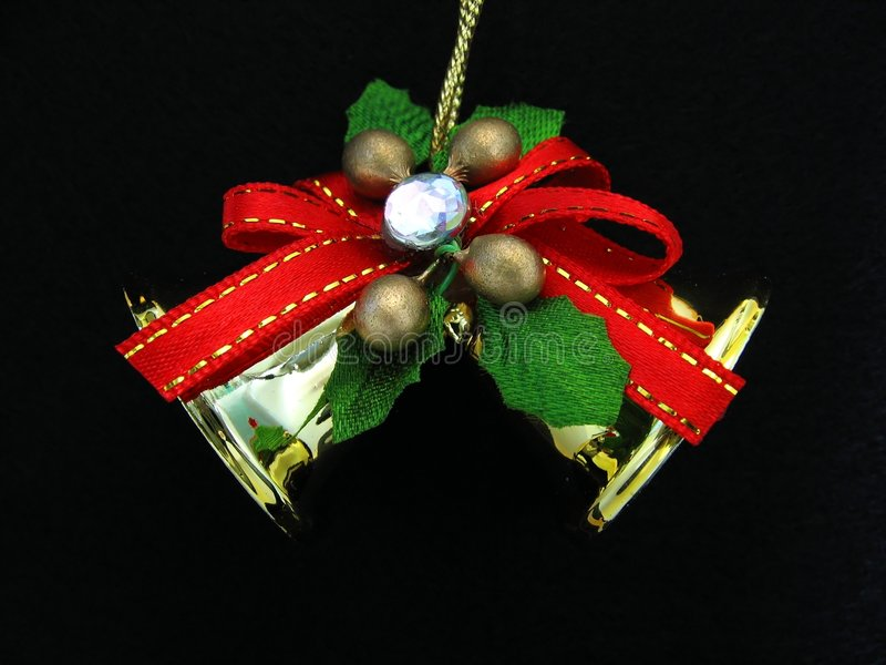 Download Christmas Ornament On Black Background Stock Image - Image: 285947