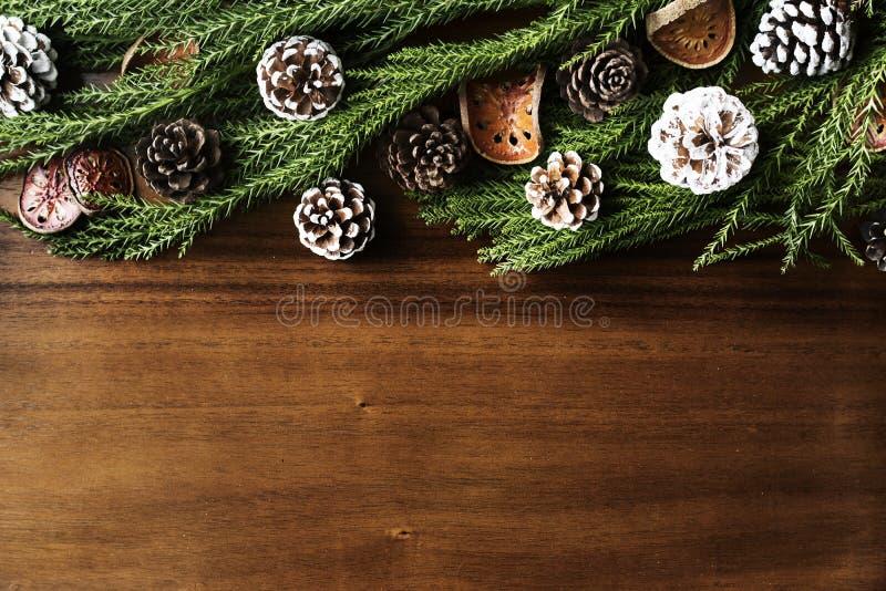 Christmas ornament design space wallpaper stock photo