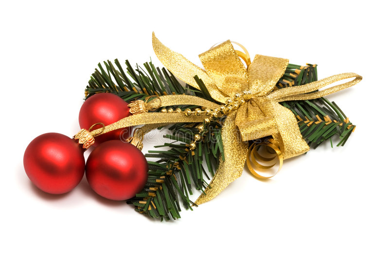 Download Christmas Ornament With Spheres Stock Image - Image: 6444015