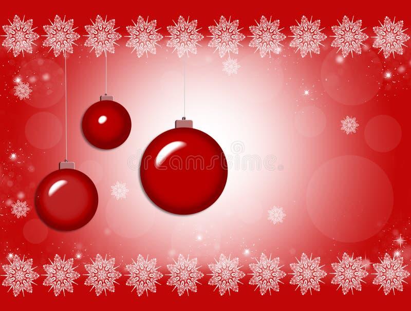 Christmas ornament. Vector background card vector illustration