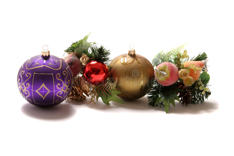 Download Christmas ornaments stock photo. Image of giving, glitter - 1405956