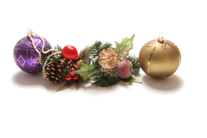 Download Christmas ornaments stock photo. Image of bells, glitter - 1716458