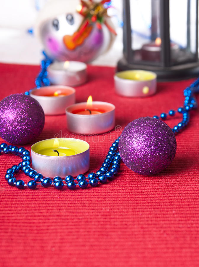 Download Christmas ornaments stock photo. Image of golden, card - 26652914