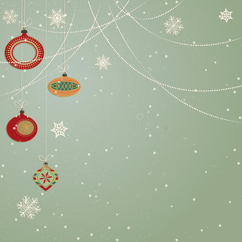 Christmas Ornaments vector illustration