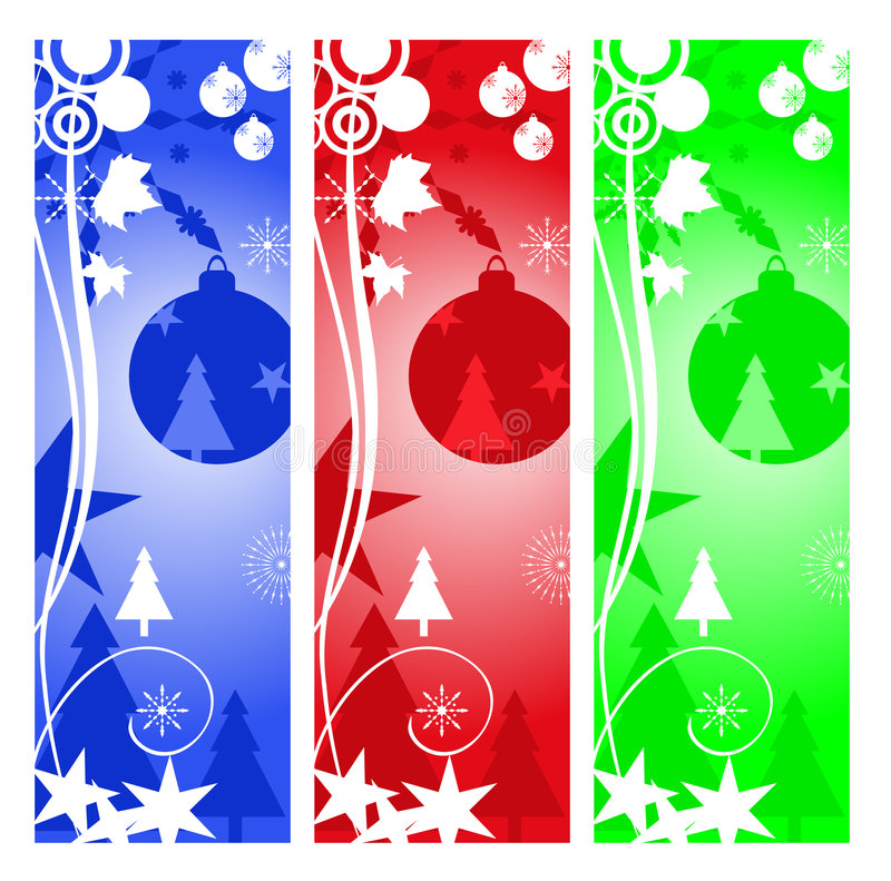 Download Christmas ornaments stock vector. Image of flake, season - 3132748