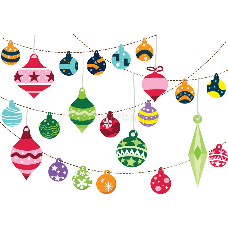Free Christmas Ornaments Royalty Free Stock Images - 57027139