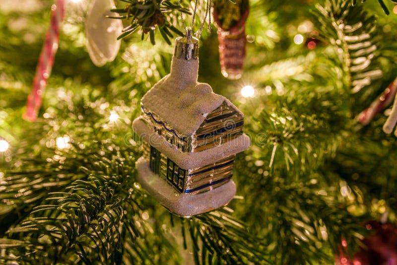 Christmas Ornaments Hanging On Christmas Tree Free Public Domain Cc0 Image