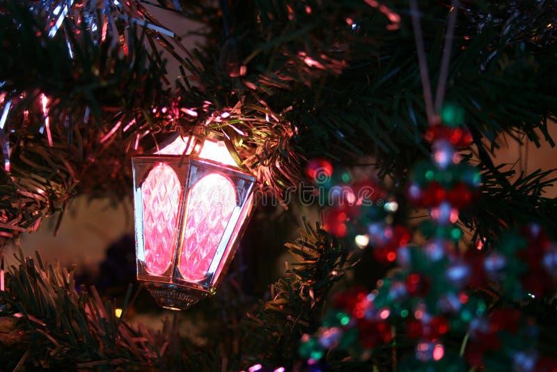 christmas ornaments tree στοκ εικόνες