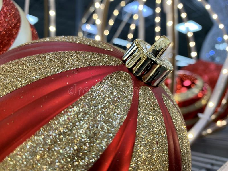Christmas Ornaments Up Close royalty free stock images