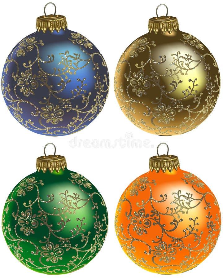 Free Christmas Ornaments Vol.1 Royalty Free Stock Image - 1766316