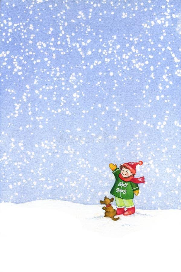 Christmas-painting5 Lizenzfreie Stockfotos